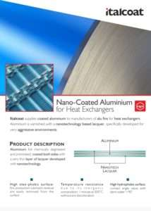 Nano-Coated Aluminium
